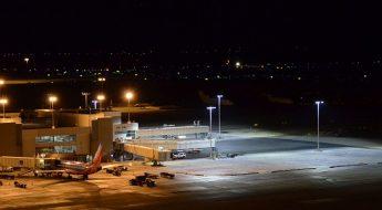 ADB SAFEGATE New Apron LED Floodlights at Denver