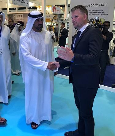 ADB SAFEGATE at Dubai Airport Show