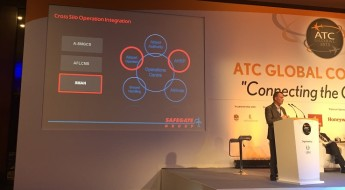 Roy Bolwede presenting at ATC Global 2015 in Dubai