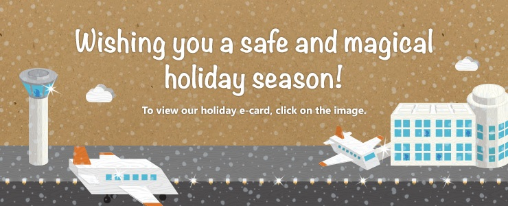 ADB SAFEGATE wishes you a safe and magical holiday season