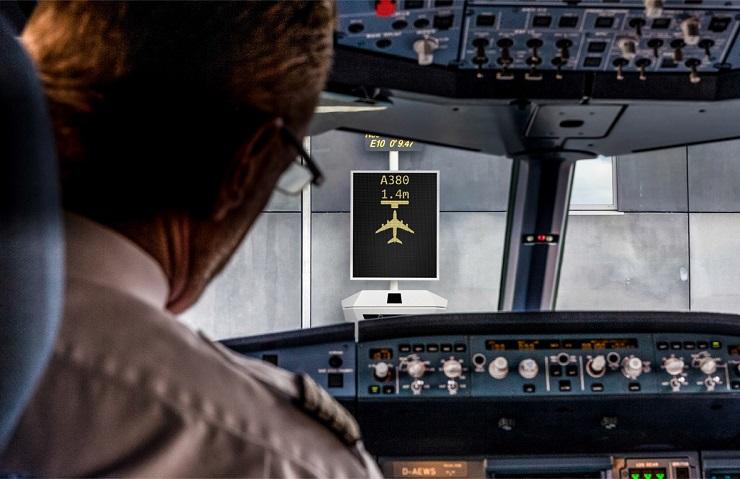 Safedock X - Pilot view