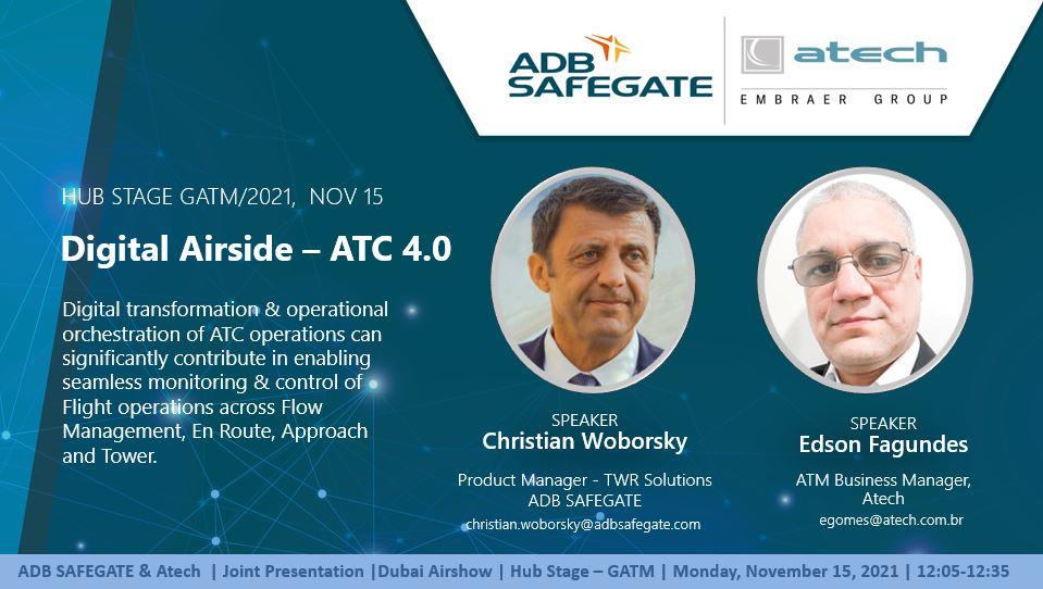 Digital Airside 4.0 - Presentation at Dubai Aishow