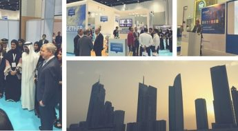 Dubai Airport Show 2016 ADB Safegate collage