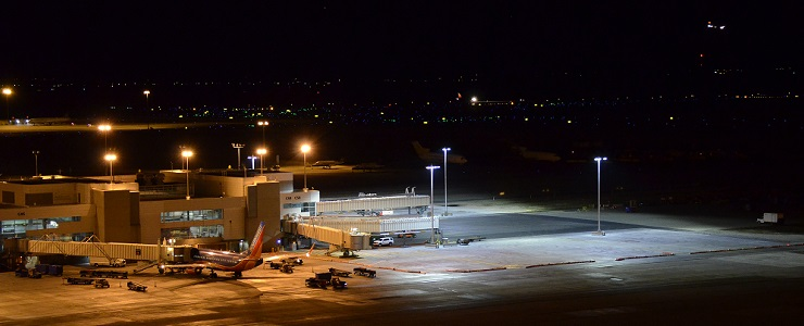 ADB SAFEGATE New Apron LED Floodlights at Denver