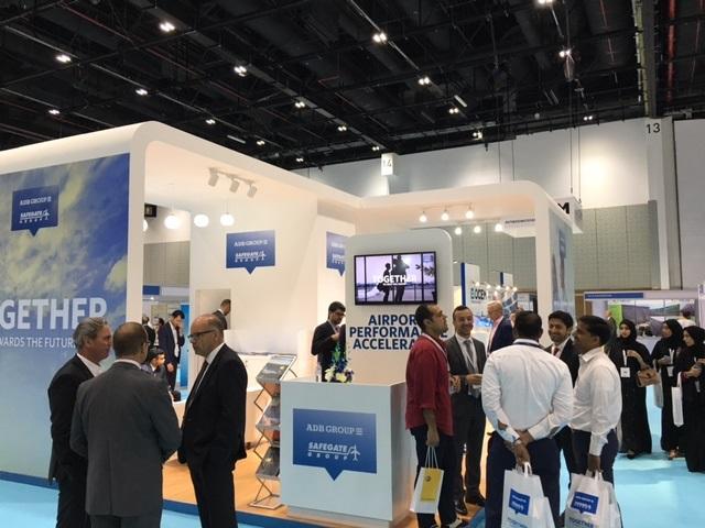 Dubai Airport Show ADB Safegate Stand