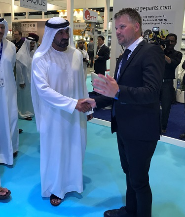 ADB SAFEGATE at Dubai Airport Show