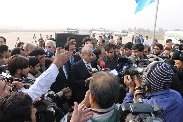 Punjab Chief Minister Muhammad Shehbaz Sharif