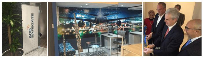 Inauguration ceremony Mexico's Azul Internacional new office