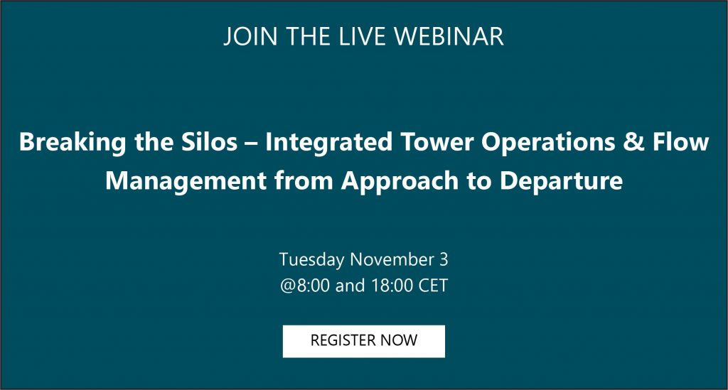 ADB SAFEGATE and Atech Joint Webinar: Breaking the silos - Integrated Tower Operations & Flow Management from approach to departure