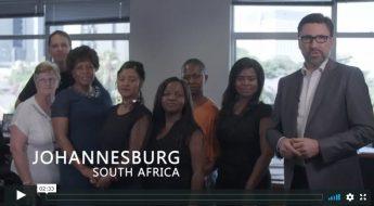 The ADB SAFEGATE team in Johannesburg