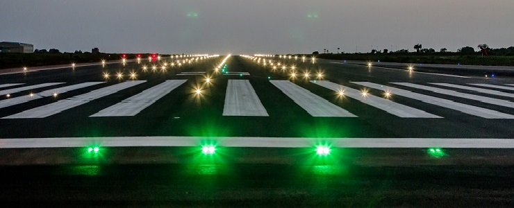 ADB SAFEGATE Lights Up Ghanau0027s Tamale Airport Runway