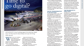 Time to go digital - Asia Pacific Airports Magazine