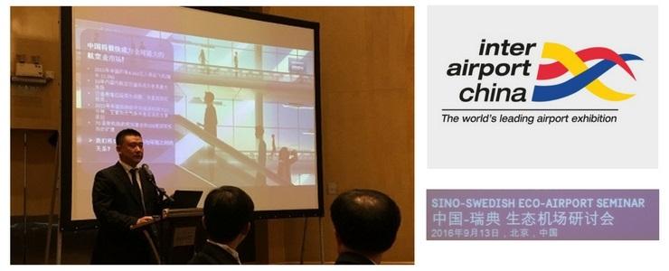 Peng at Inter Airport China