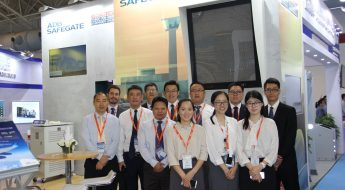 ADB SAFEGATE team at inter airport China