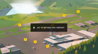 Interactive airport
